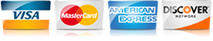 For AC in Harlingen TX, we accept most major credit cards.